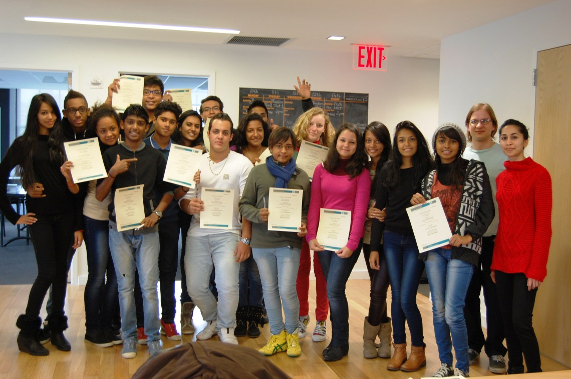 Closed Groups Lesson - Junior English course in New York