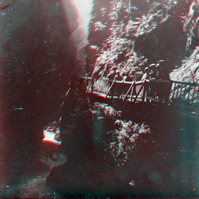 """Box01S04 - """"Gorges du Trient près de Martigny Suisse 1928"""""""