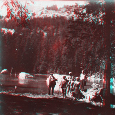 """Box01S05 - """"Lac Vert près de St Gervais 1928"""""""