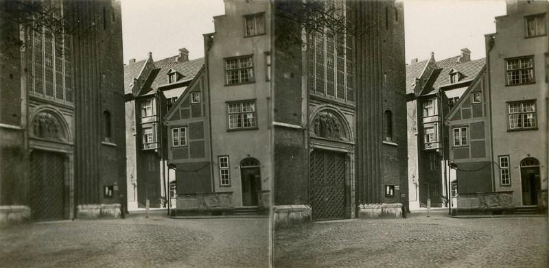 A stereoscopic 3D view from Carl Röhrig Verlag's Danzig.