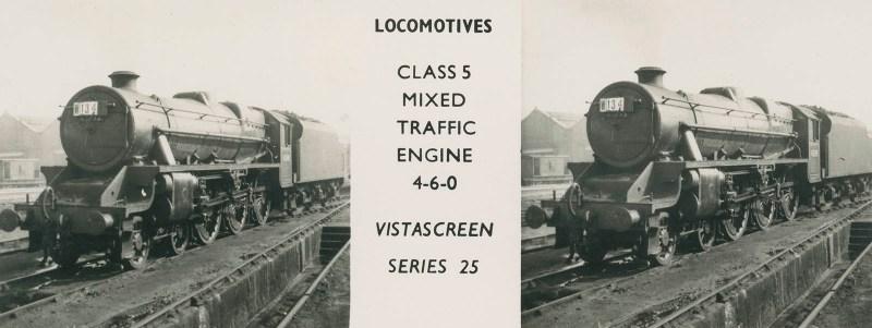 "VistaScreen Series 25 ""Locomotives"" - ""Class 5 Mixed Traffic Engine 4-6-0"""