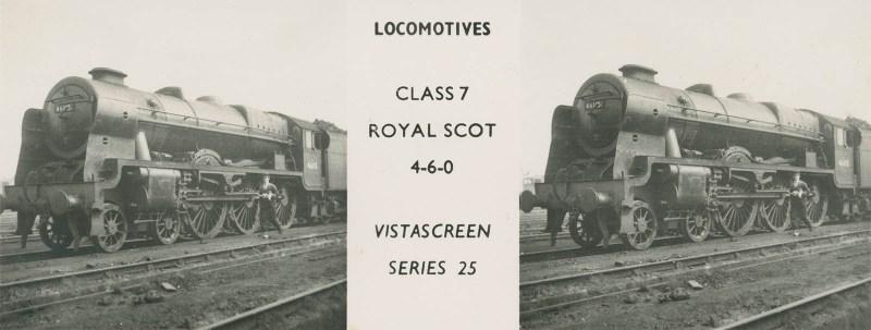 "VistaScreen Series 25 ""Locomotives"" - ""Class 7 Royal Scot 4-6-0"""