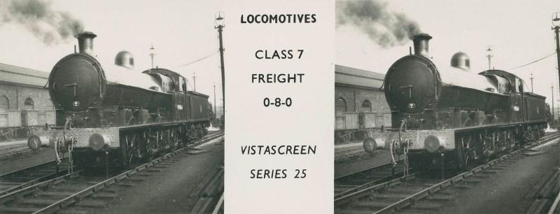 """VistaScreen Series 25 """"Locomotives"""" - """"Class 7 Freight 0-8-0"""""""