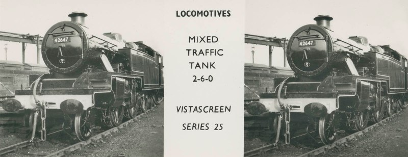 "VistaScreen Series 25 ""Locomotives"" - ""Mixed Traffic Tank 2-6-0"""