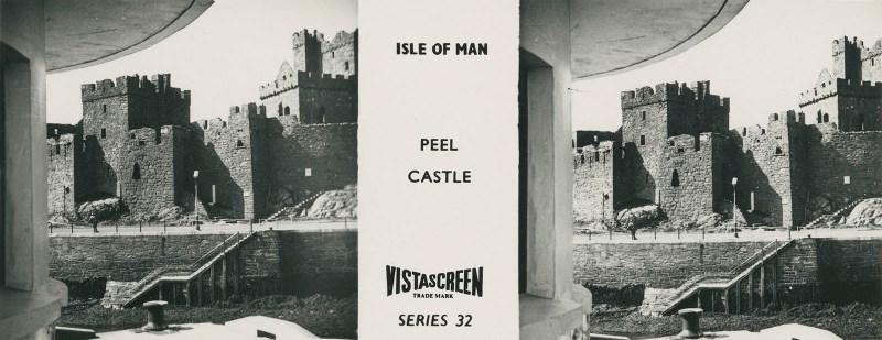 Vistascreen Series 32 The Isle of Man (Ellan Vannin) - Peel Castle