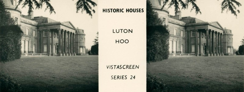 "Luton Hoo, from VistaScreen Series 24 ""Historic Houses"""