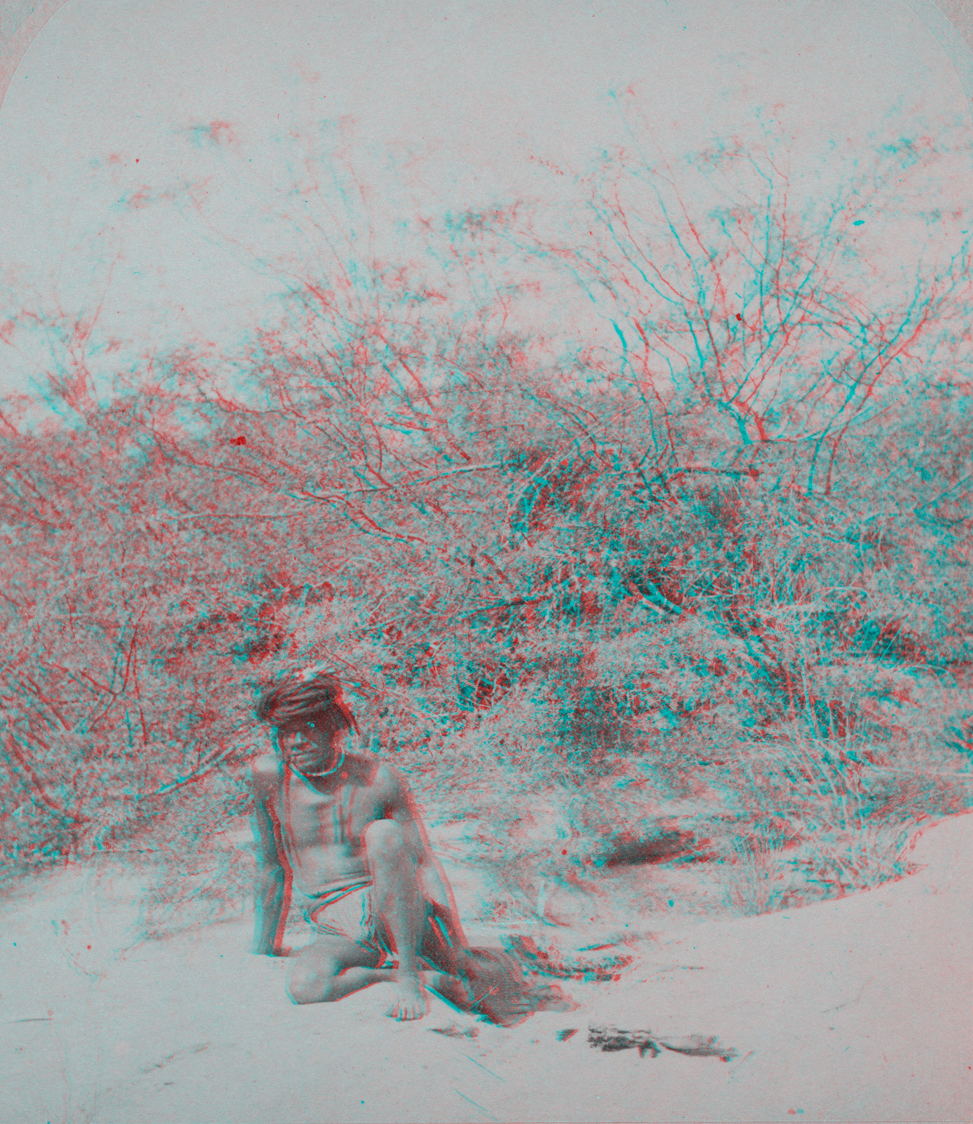 Indigenous Peoples' Day Anaglyph 4
