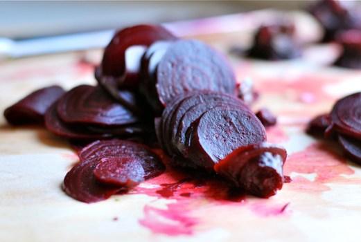 sliced beets