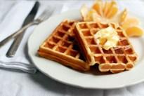 Eggnog Waffles Brooklyn Supper