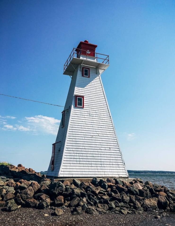 Lighthouse near Victoria Park, Charlottetown, PEI