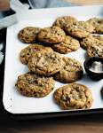 These nutty rye chocolate chip cookies are made with fragrant toasted rye flour and a few extra drizzles of molasses.