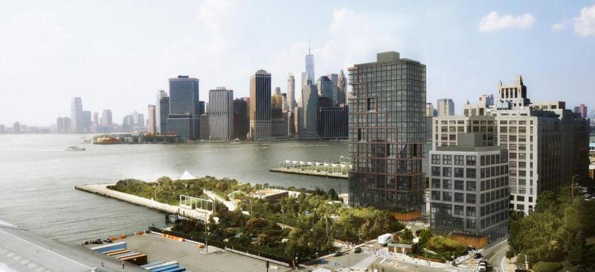 ブルックリン・ブリッジパークに計画される新たなコンド。