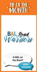 Is BAL on the Road?