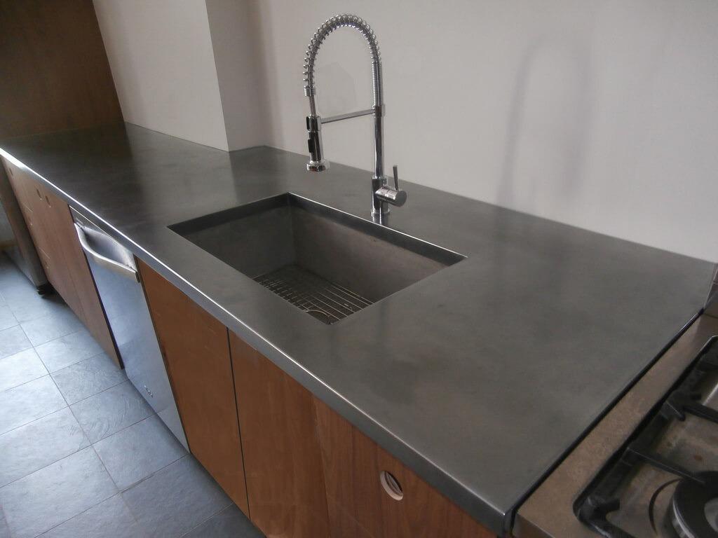 Stainless Steel Artisan Cast Residential Countertops