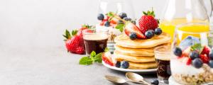 Healthy summer breakfast