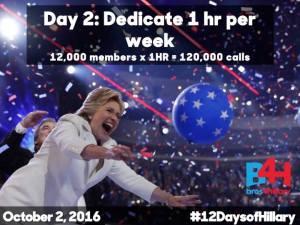 Day 2: Dedicate 1 hr per week