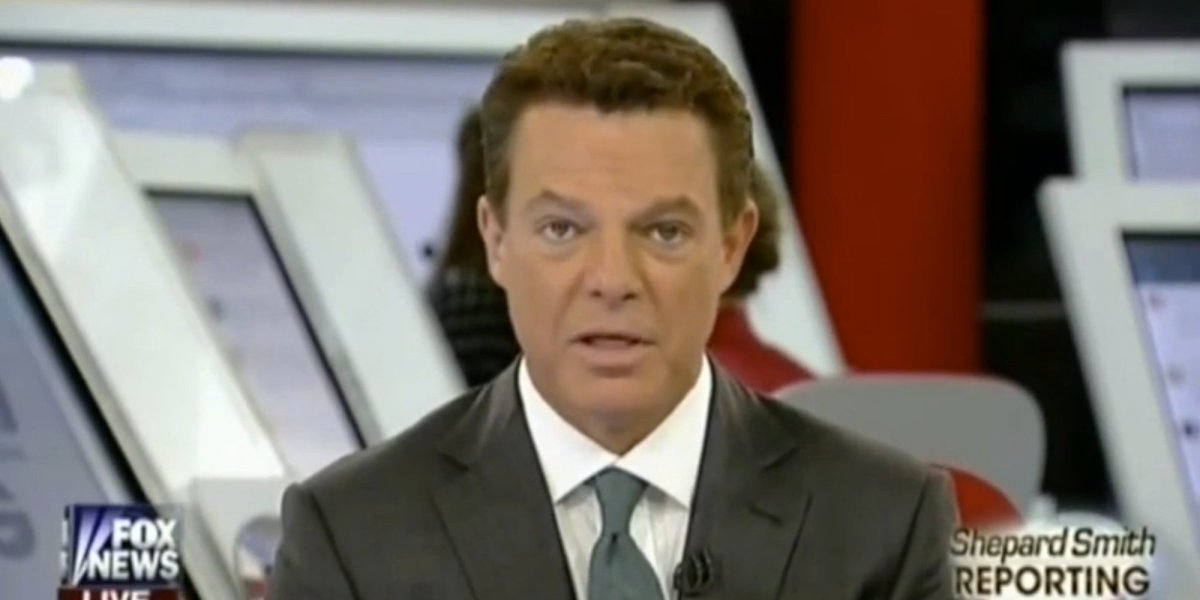 Frustrated FOX News Anchor Shepard Smith Drops 8 Minutes Of Epic Truth Bombs On Live TV