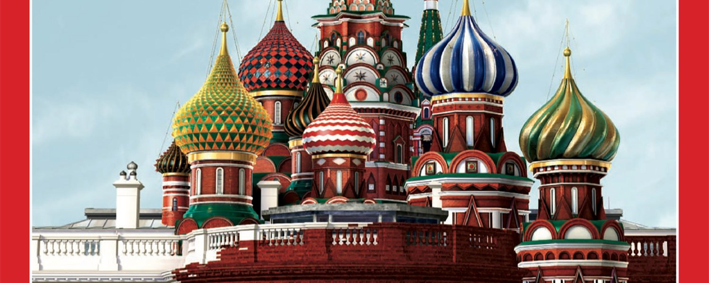 Time Magazine Cover Trump/Russia