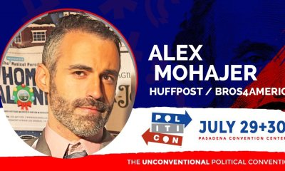 Alex Mohajer of Bros4America and HUffPost Will APpear At Politicon