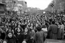 THe Original Women's March happened in Iran in 1979