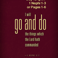 #BOMTC Day 1, April 7~1 Nephi 1-3 or Pages 1-6: It Begins with a FAMILY