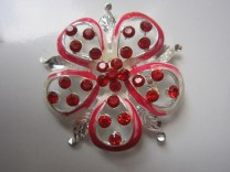 Bros Grosir Cantik Bunga Permata Merah