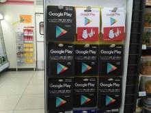 Google Play Card Prepaid Card