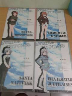 """Clearfile Strike Witches """"Operation Victory Arrow Ver."""""""