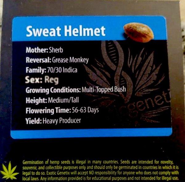Exotic Genetix - Sweat Helmet (Reg M/F)