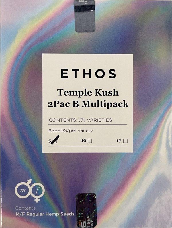 Ethos - Temple Kush 2Pac (B Line) Multipack