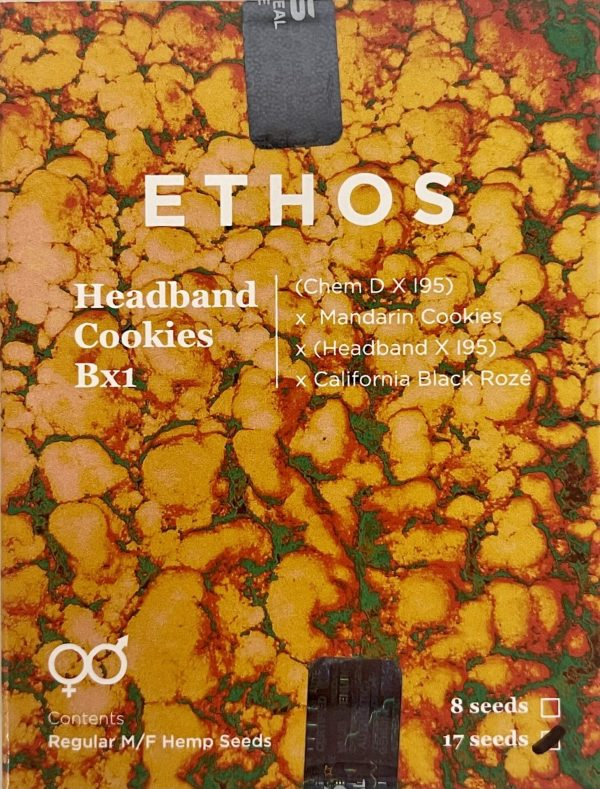 Ethos - Headband Cookies Bx1