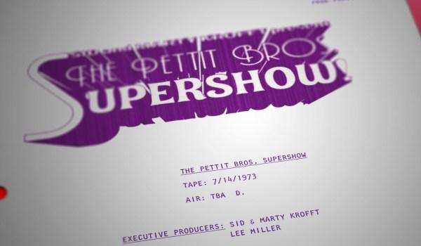 Pettit Bros. Super Show – S06E09 – Master Script