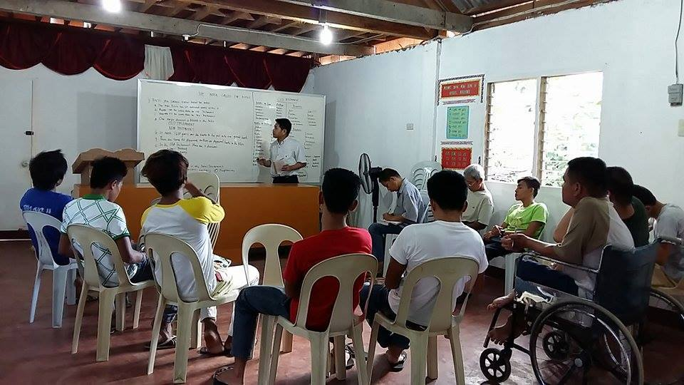 Preaching school starts in the Philippines