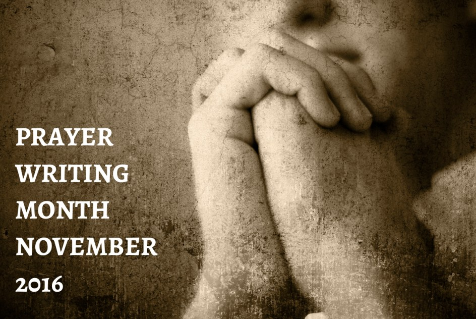 GoSpeak Ministry: Prayer Writing Month