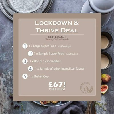 Brother Nature Nutrition Lockdown Deal