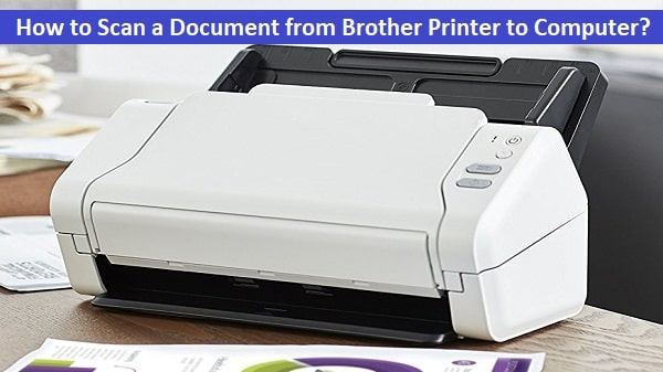 how to scan from brother printer