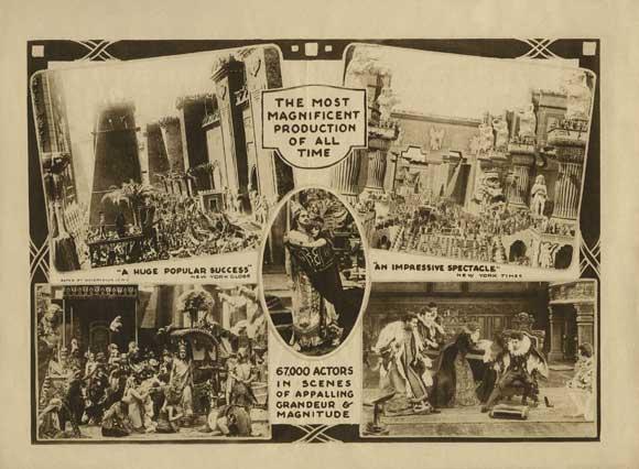 Image result for intolerance film 1916