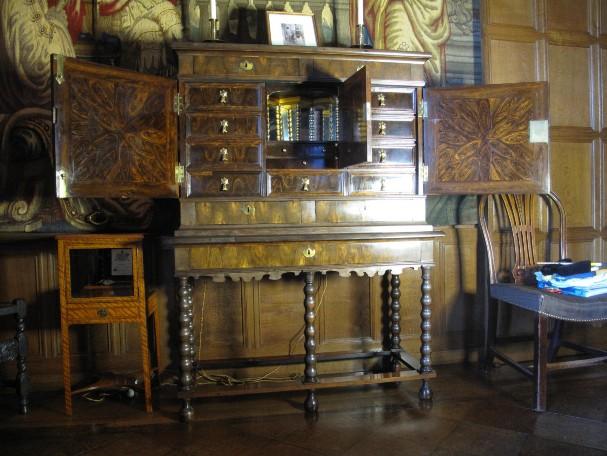 Antique Cabinet Restoration. The Powis Cabinet
