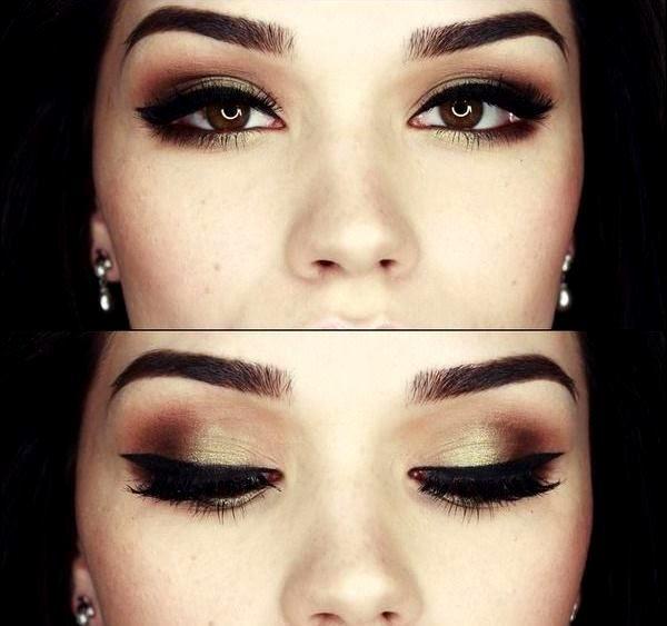 Брови: картинки красивой формы, девушки с макияжем, фото ...