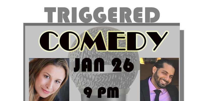 Triggered Comedy Show with Lindsay Glazer