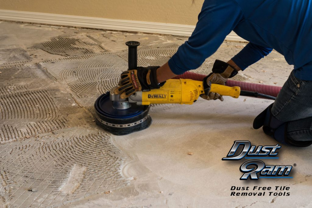 1 dust free thinset removal in broward