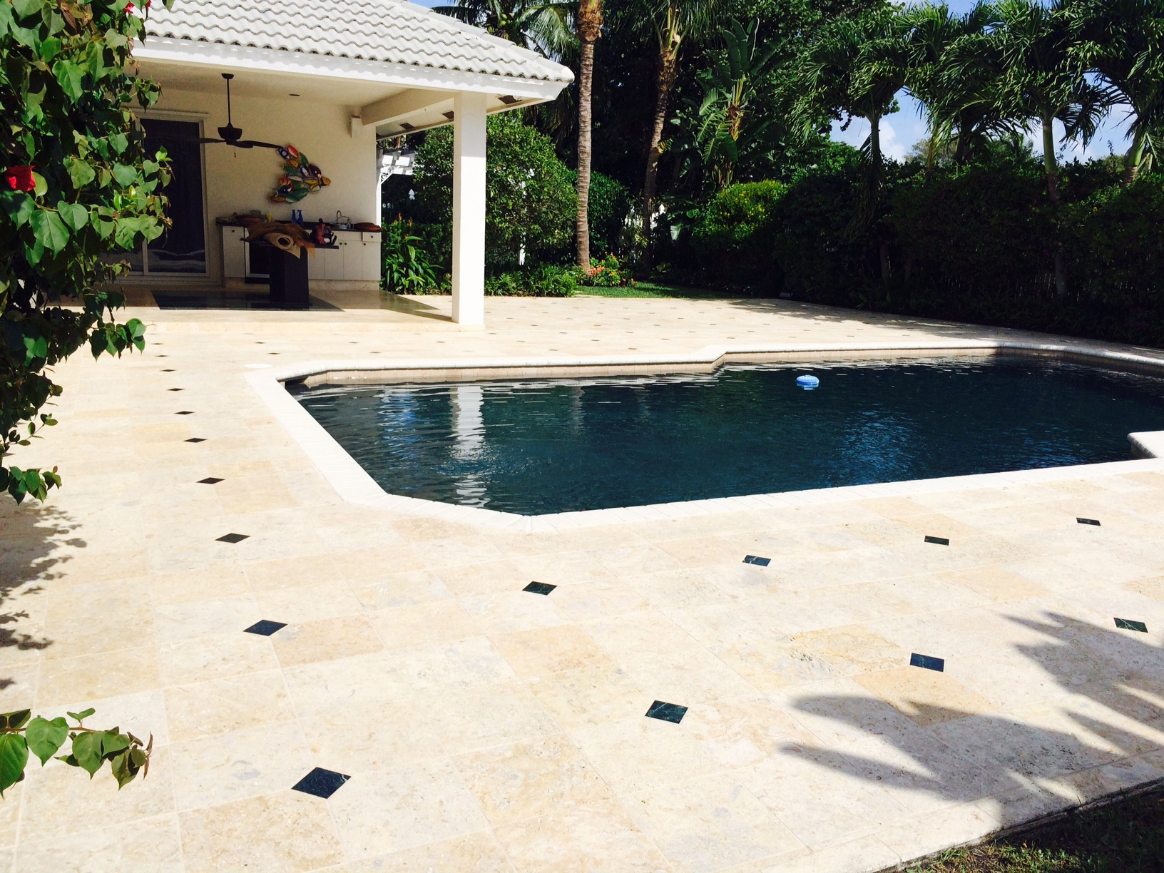 Travertine Pool Deck Sealer Pool Deck And Driveway Sealing Company Fort Lauderdale  Broward