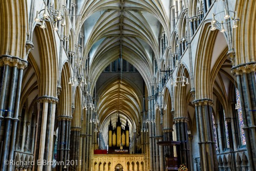 Lincolnshire's Lincoln Cathedral