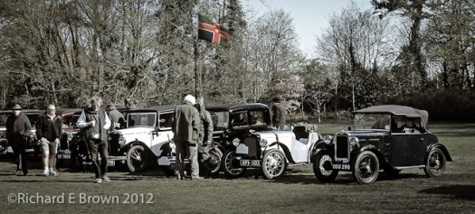 Austin7 in Large Format