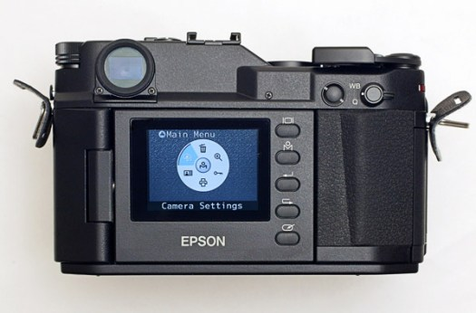 Epson Range Finder Rear Screen