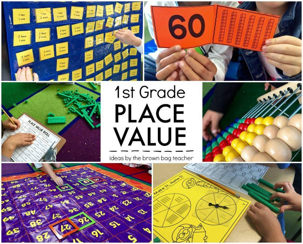 Place Value 1st Grade Centers