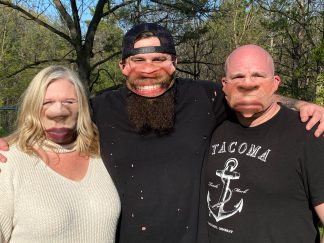 Your Huge Face on a Mask! - Custom Printed Face Mask
