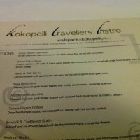 Forgettable... Kokopelli Travellers Bistro