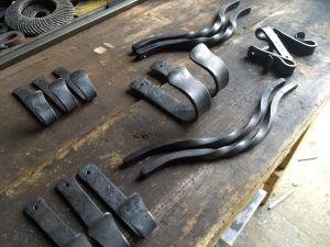 Blacksmith Shop Hardware - Brown County Forge - Terran Marks