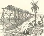 Mode of Emptying Trucks of Earth at Culebra, June 23, 1888, 697